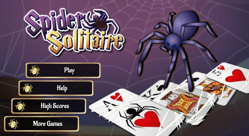 Spil gratis edderkop kabale online hos OnlineKabale.dk